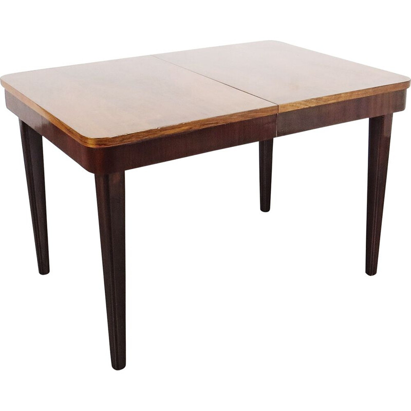 Vintage Dining table by Jindrich Halabala Czechoslovakia 1960s
