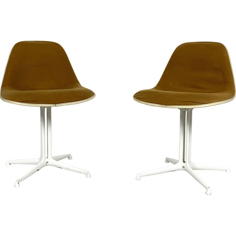 Pair of vintage chairs La Fonda by Charles & Ray Eames for Herman Miller 1970