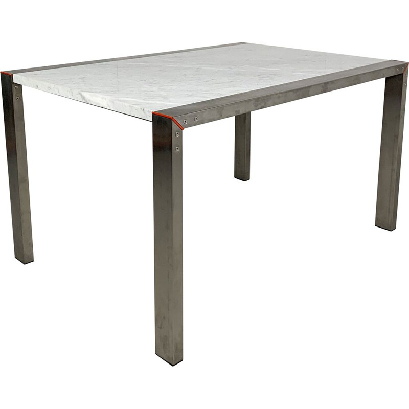 Vintage Etra Marble Dining Table by Gae Aulenti for Snaidero, 1990s