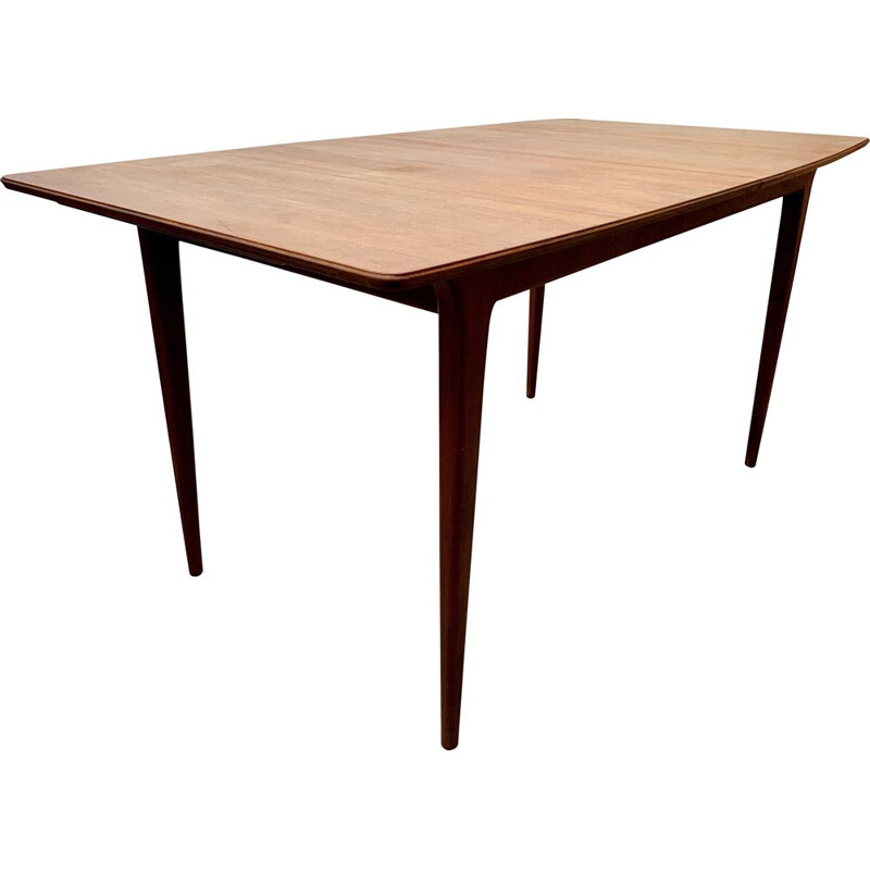 Vintage Teak Extending Dining Table by A.H Mcintosh 1970