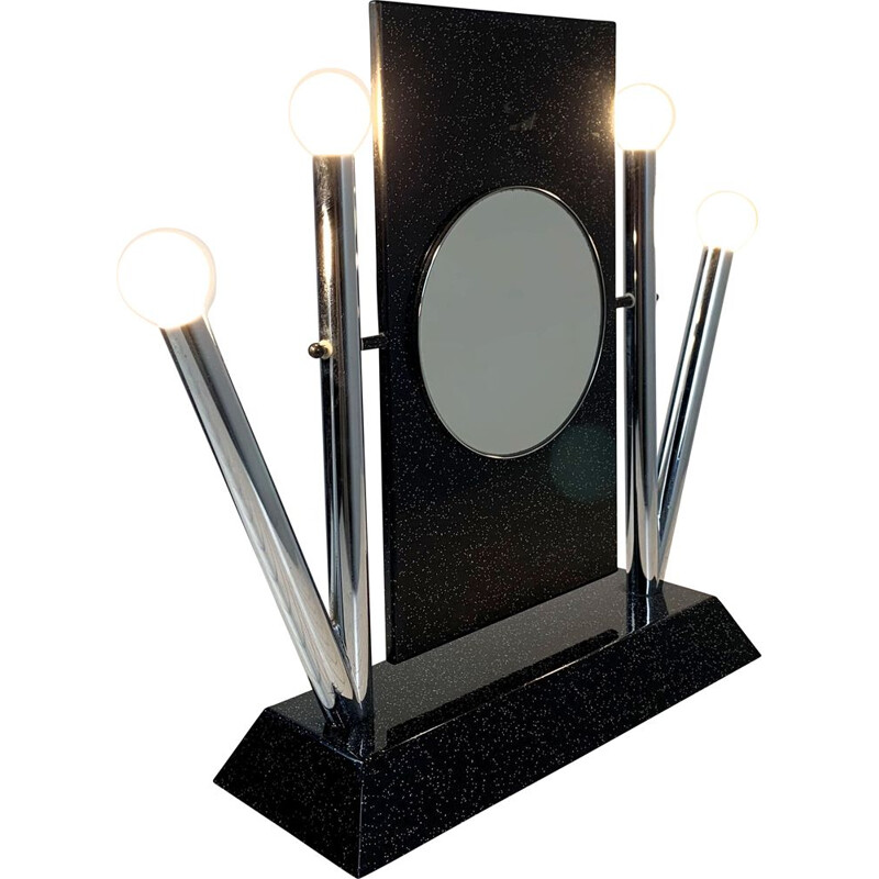 Vintage Yucca Table Mirror by Anna Anselmi for Bieffeplast, 1980s
