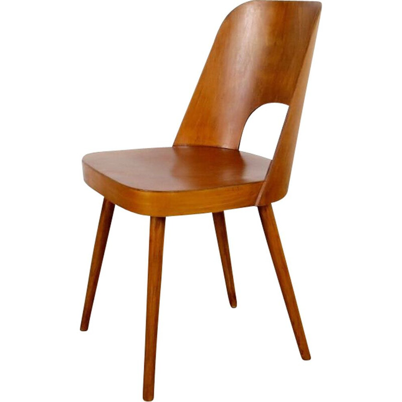 Vintage chair by Oswald Haerdtl Czechoslovakia 1960