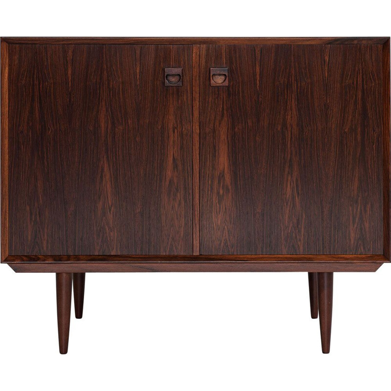 Midcentury cupboard with 2 doors in rosewood by Brouer Danish 1960s