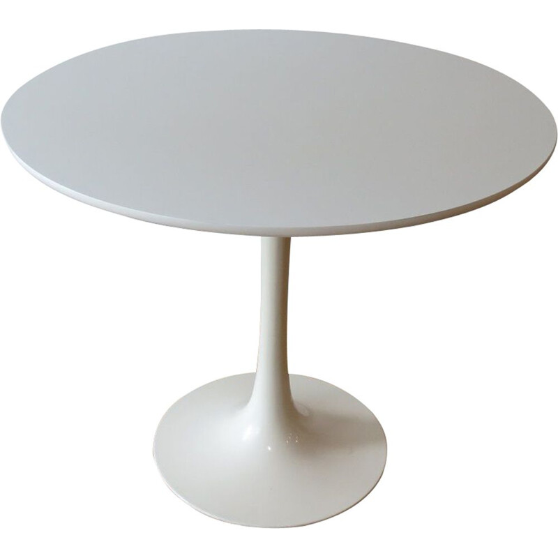 Vintage White Tulip Dining Table By Maurice Burke For Arkana Uk 1960s