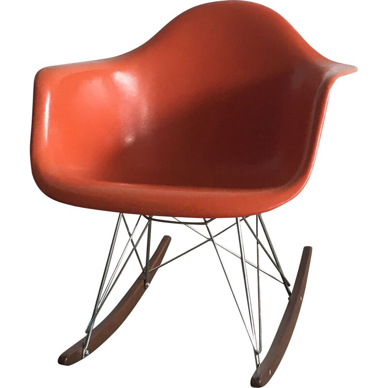 Vintage rocking chair RAR by Charles & Ray Eames
