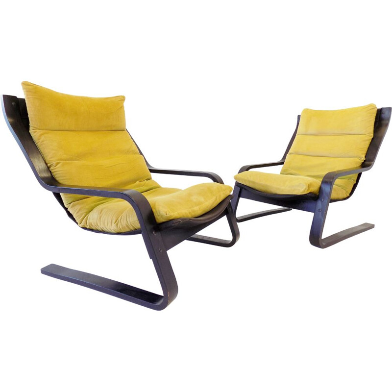 Pair of Vintage Farstrup armchairs 1970