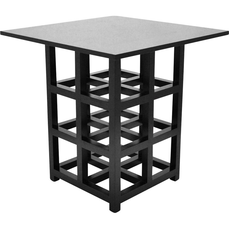Vintage Ds2 Side Table Charles Rennie Mackintosh's, by Cassina 1975