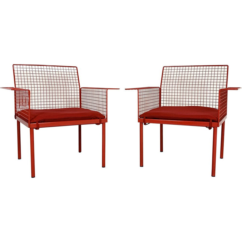 Pair of vintage Chairs from Evoluzione, 1980s