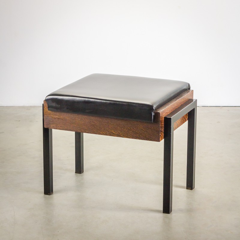 Phenomenal Pair Of Dutch Church Stools In Wenge 1960S Camellatalisay Diy Chair Ideas Camellatalisaycom