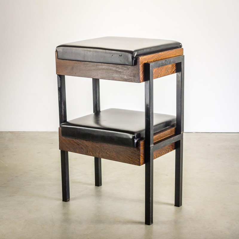 Wondrous Pair Of Dutch Church Stools In Wenge 1960S Camellatalisay Diy Chair Ideas Camellatalisaycom