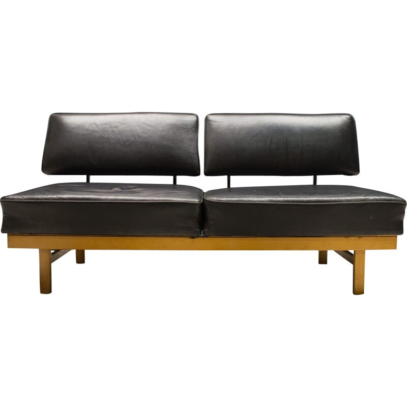Mid-Century Leather sofa Stella Daybed from Walter Knoll  Wilhelm Knoll, 1950s