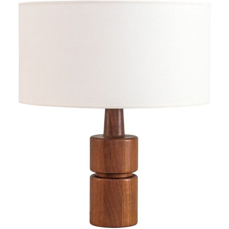 Large vintage table lamp by Domus danish 1970s