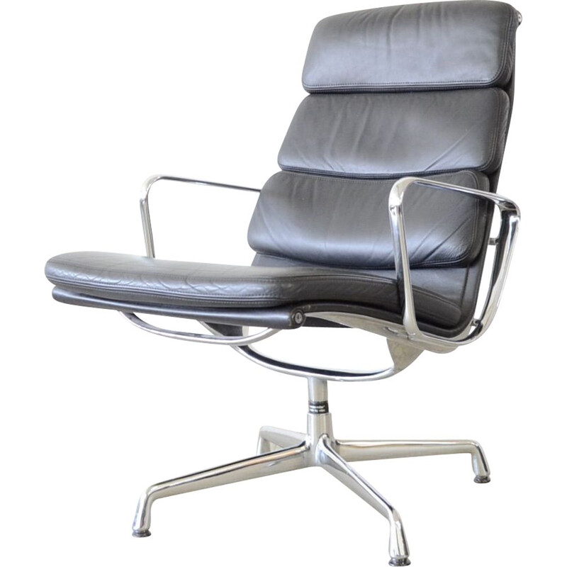Vintage loungelobby chair Herman Miller by Vitra ea216 eames 1959