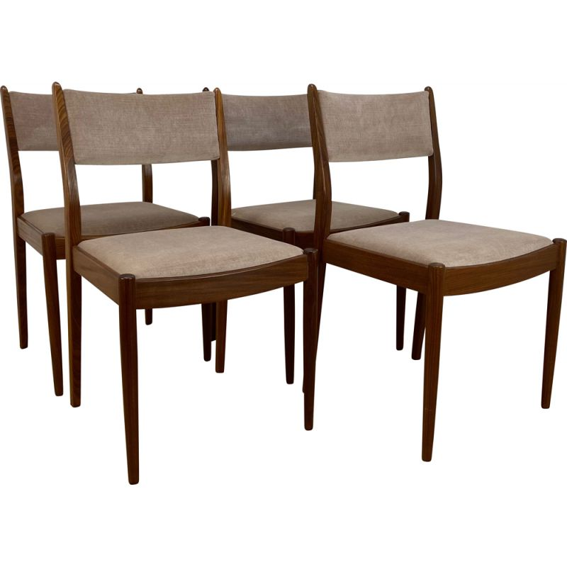 Set of 4 Mid Century Dining Chairs by G Plan 1960s