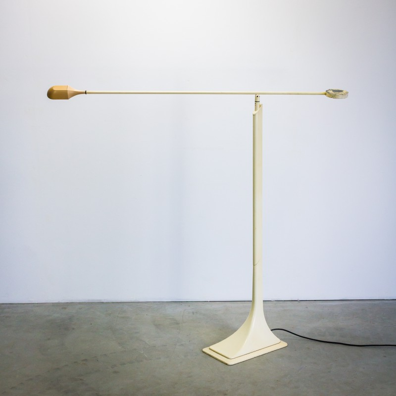 Mid-century Tre Ci Luce floorlamp with ajustable arm - 1980s ...