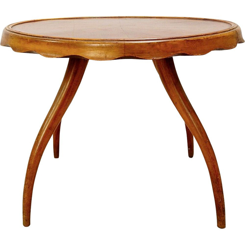 Vintage Side Table by Osvaldo Borsani, 1940