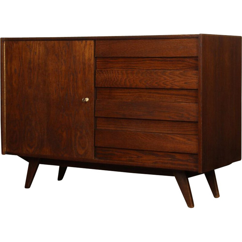 Vintage chest of drawers by Czech Jiri Jiroutek 1960