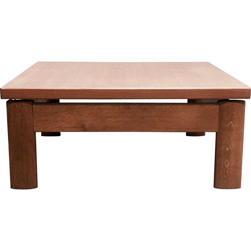 Vintage scandinavian teak coffee table 1960
