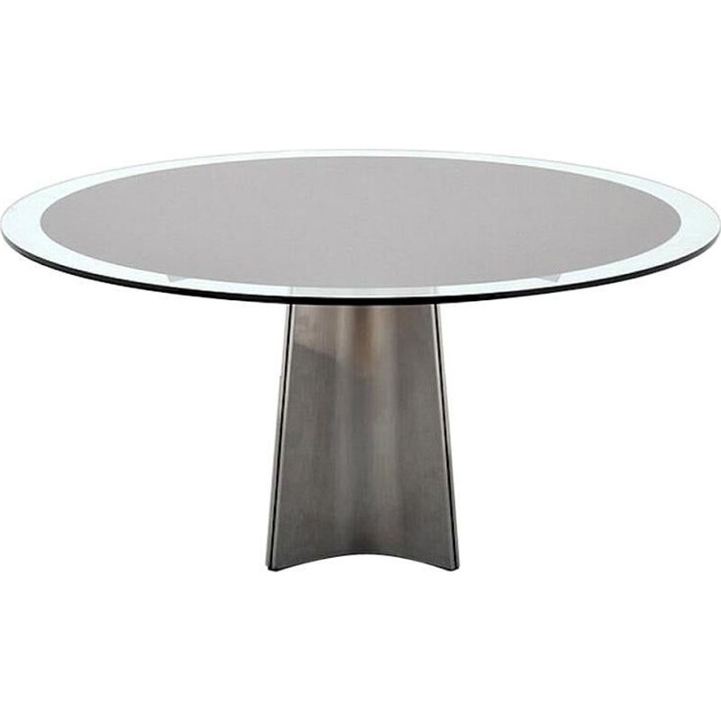 Vintage dining table by Luigi Saccardo for Maison Jansen 1970