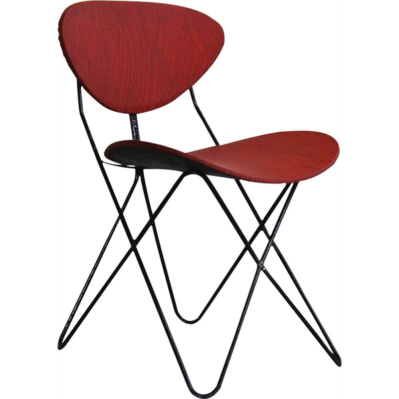 Vintage Anthony chair by Raoul Guys 1956