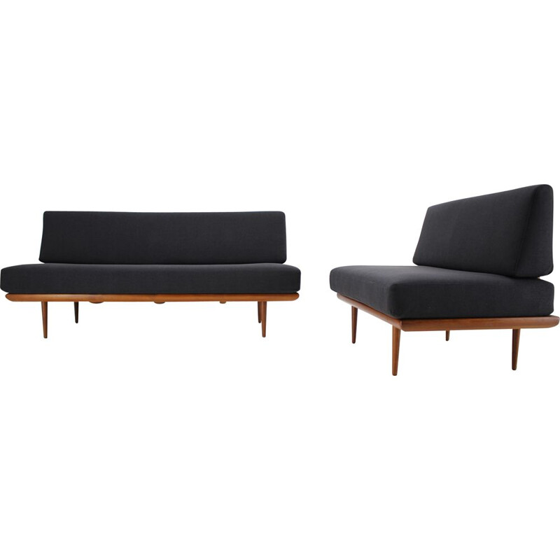 Pair of  mid century teak danish sofas for Fredericia Stolefabrik - 1960s