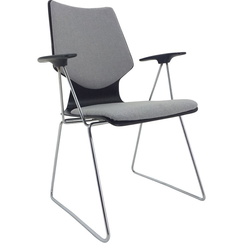 Mid Century Armchair designed by Elmar Flötotto for Pagholz, 1970s