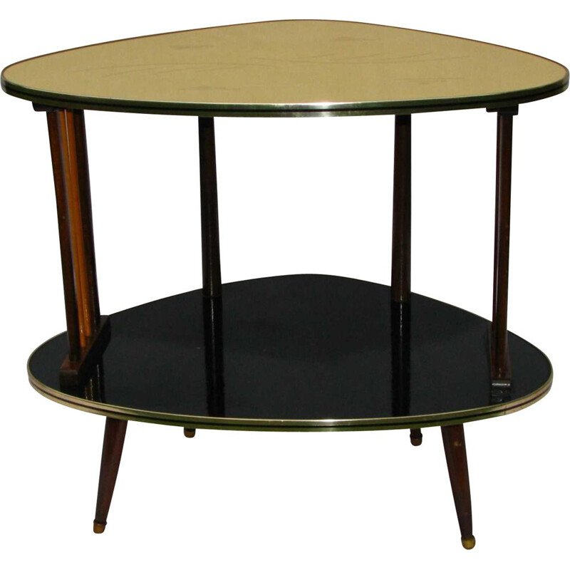 Vintage bar table on spindly legs