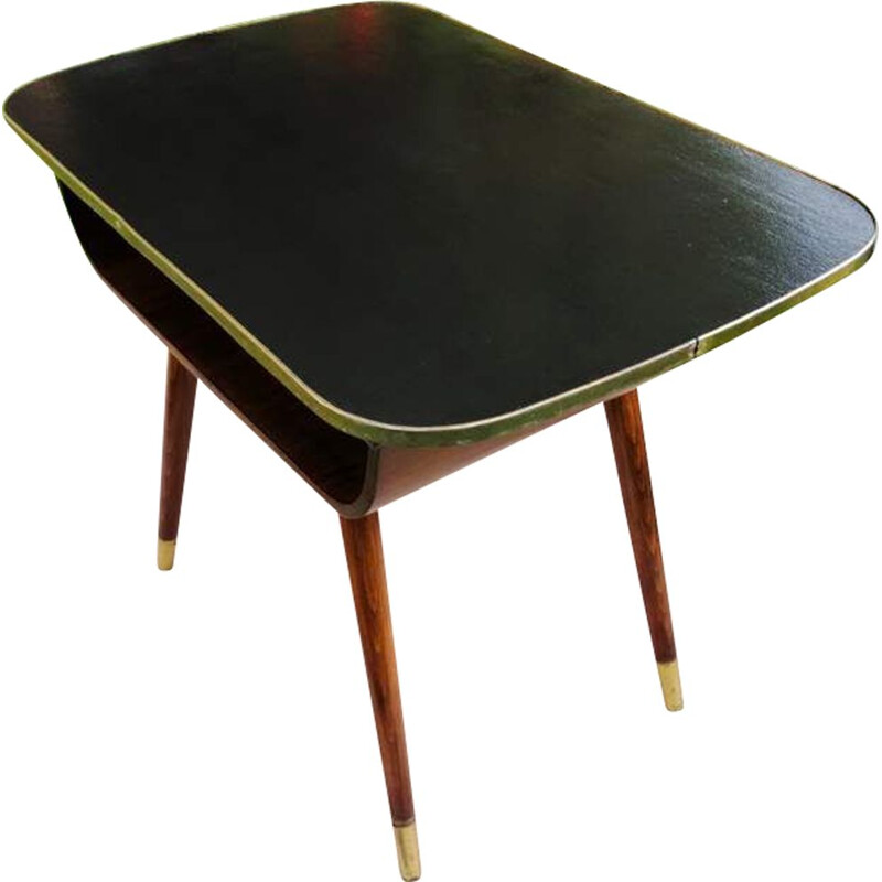 Vintage coffee table on spindly legs