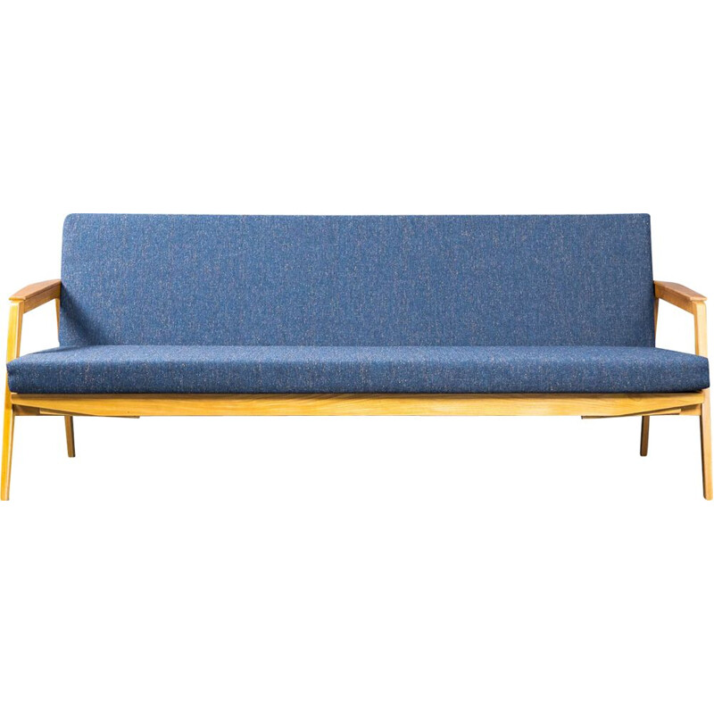 Vintage Daybed Sofa by Drevotex Czech 1960s