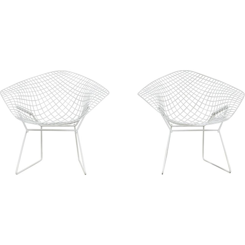 Vintage Diamond Chairs by Harry Bertoia for Knoll, 1970s