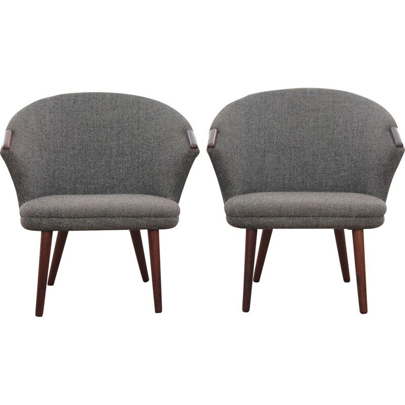 Pair of Scandinavian vintage armchairs