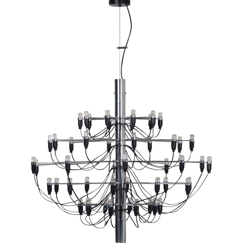 Vintage Chandelier 209750 by Gino Sarfatti for Flos, 1980s