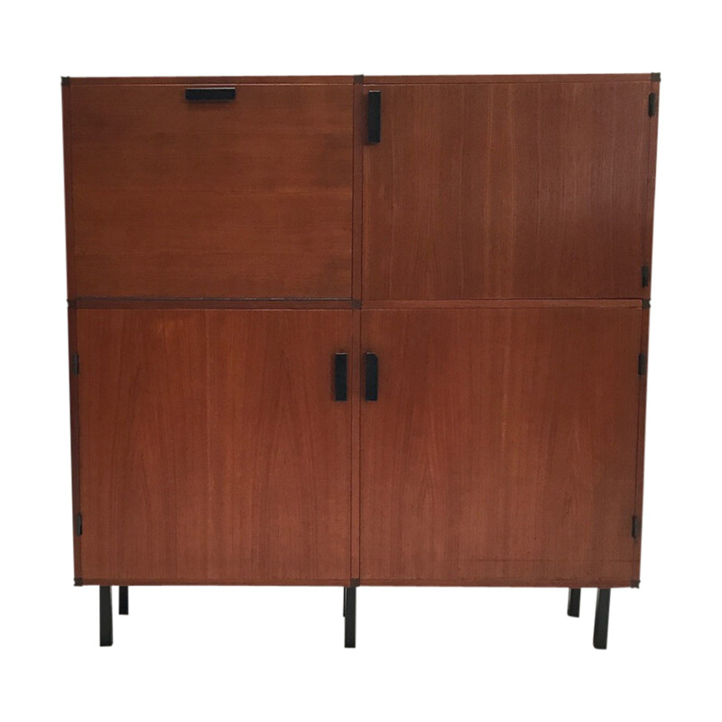 Vintage Teak highboard Made to Measure by Cees Braakman for Pastoe, 1960