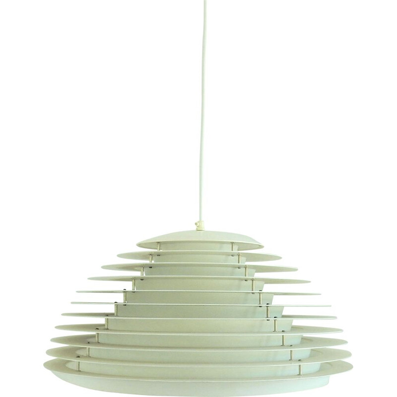 Vintage 'Hekla' pendant lamp by Jon Olafsson and P.B. Lútherson for Fog & Mørup, Denmark 1960s