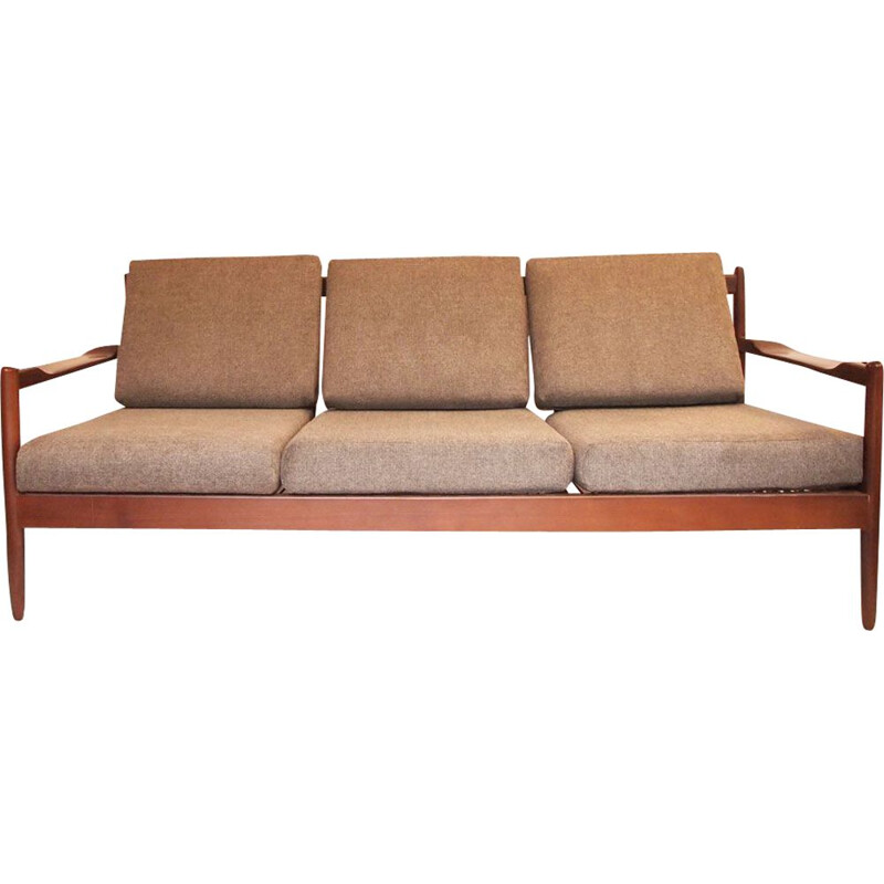 Vintage scandinavian danish 1960 sofa bed