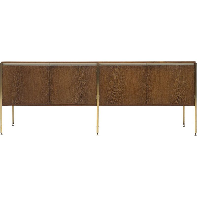 "Vintage sideboard Fristho ""Copal"" wengé by Kho Liang Ie"
