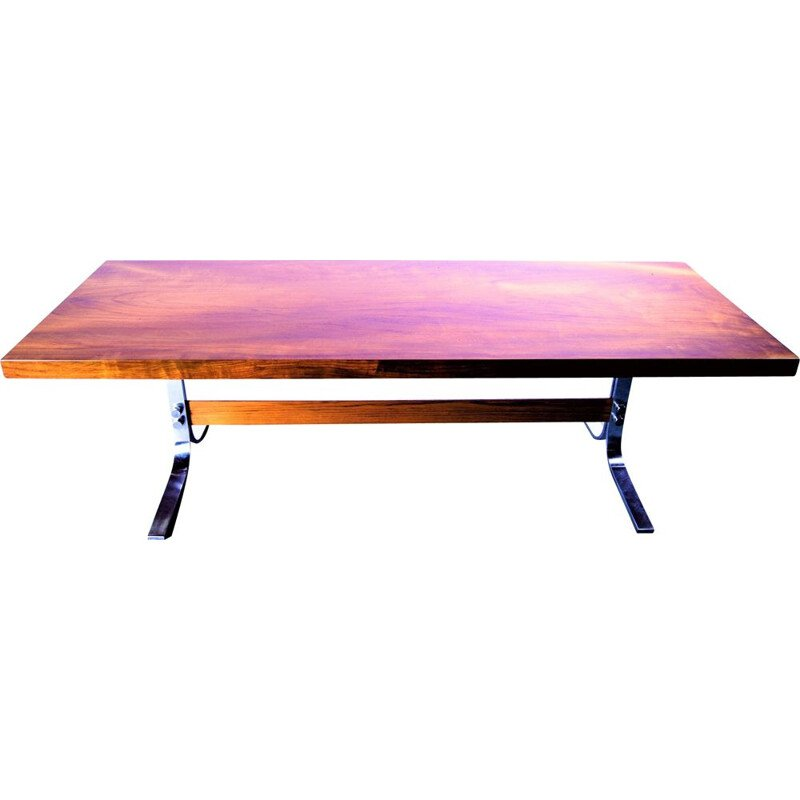 Vintage Solid Teak Top Coffeetable