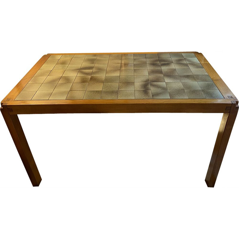 Vintage table T18 Pierre Chapo 1972