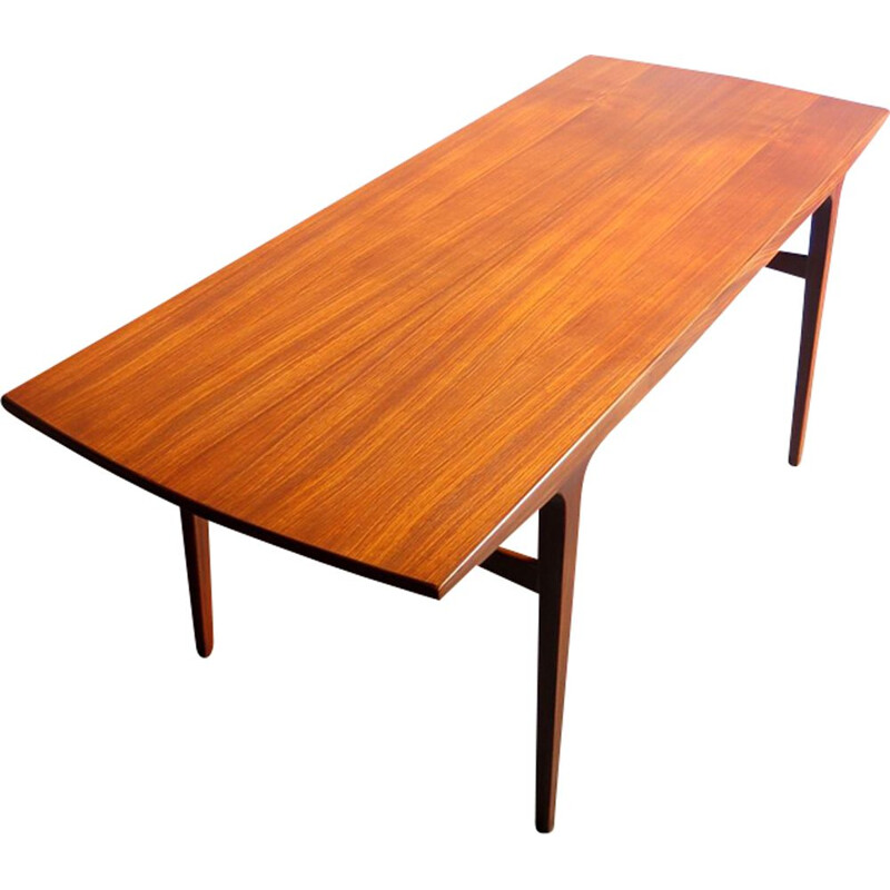 Vintage teak coffee table, Denmark, 1960