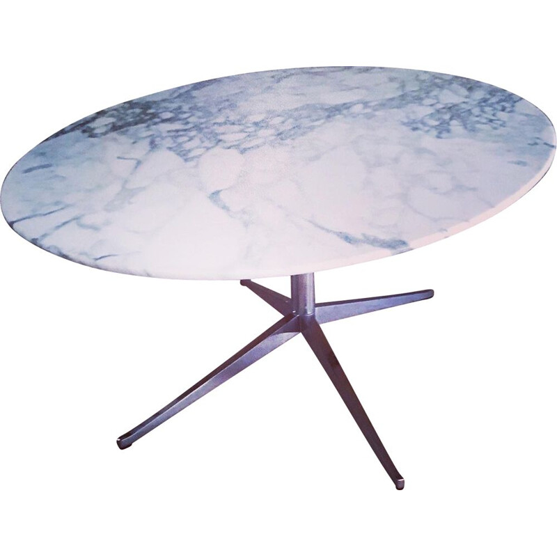 Vintage marble table Knoll Florence