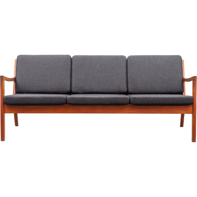 Vintage teak sofa, Ole Wanscher, France & Son  by Joop Danish 1960s