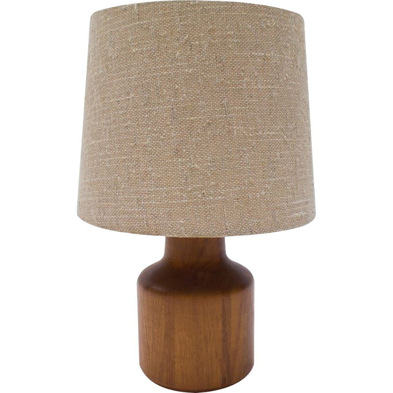Vintage Teak Table Lamp, Danish 1960s