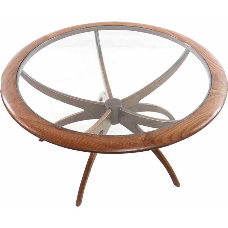 Mid Century Teak G Plan Astro Spider Coffee Table