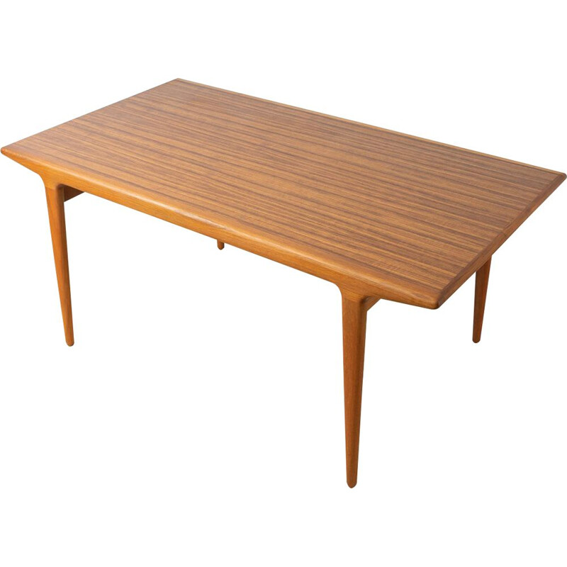 Vintage teak Dining Table,  Nils Moller 1960s