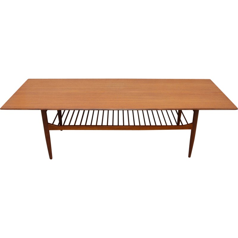 Mid Century G Plan Large Teak Coffee Table Ib Kofod Ln 1960s