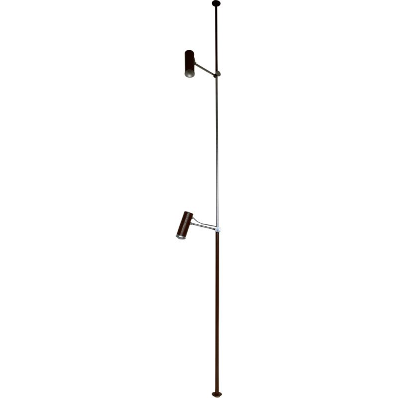 Mid century floor to ceiling lamp by Josef Hůrka for Napako 1960s