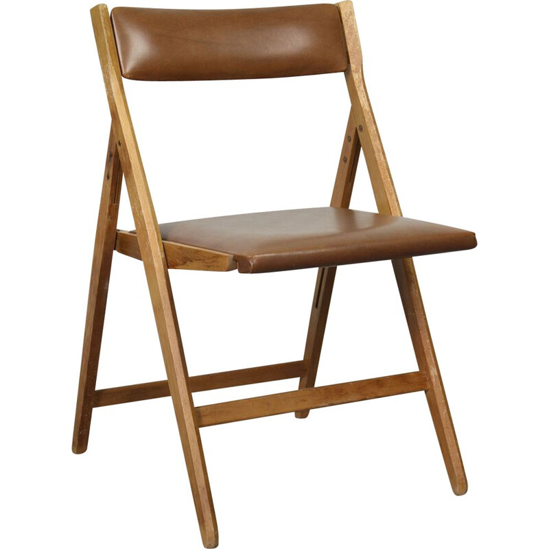 Vintage Folding Eden Chair by Gio Ponti