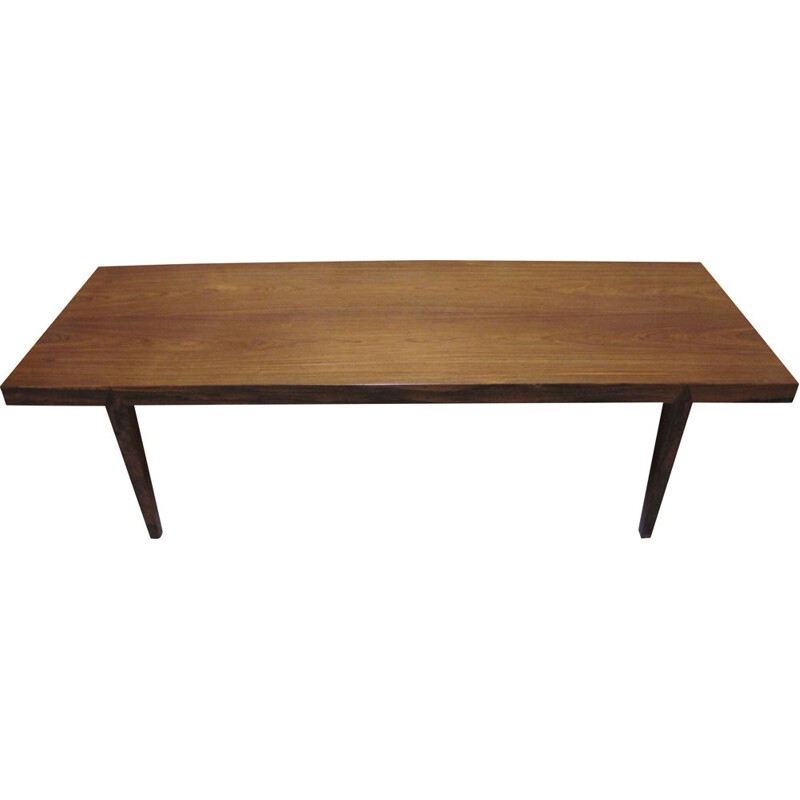 Danish rosewood coffee table by Severin Hansen, 1960