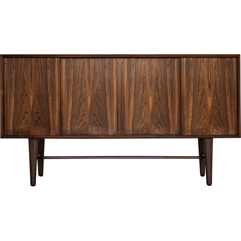 Midcentury highboard in rosewood by Arne Vodder for HP Hansen Danish 1960s
