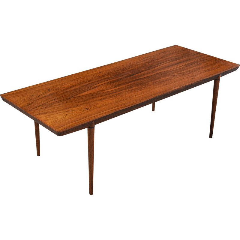 Vintage Coffee Table by Severin Hansen for Haslev Møbelsnedkeri, Denmark 1960s